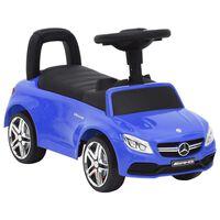 vidaXL kék Mercedes-Benz C63 pedálos autó