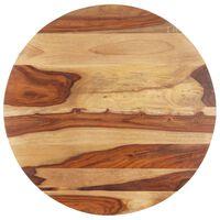 vidaXL kerek tömör kelet-indiai rózsafa asztallap 25-27 mm 60 cm
