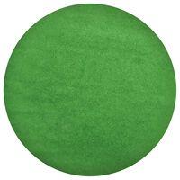 vidaXL zöld szegecses aljú kerek PP műfű átm. 170 cm