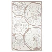 Esschert Design évgyűrű mintás kültéri szőnyeg 240 x 150 cm