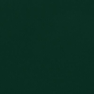 vidaXL sötétzöld négyzet alakú oxford-szövet napvitorla 4,5x4,5 m