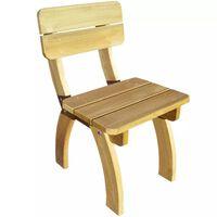 vidaXL impregnált fenyőfa kerti szék