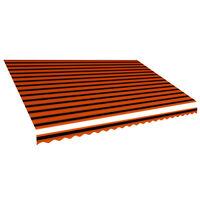 vidaXL narancssárga és barna napellenző ponyva 500 x 300 cm