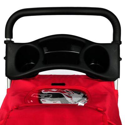 Piros kutyaszállító kocsi , Piros