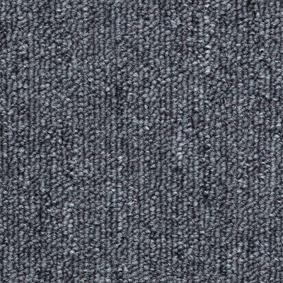 vidaXL 15 darab sötétszürke lépcsőszőnyeg 56 x 17 x 3 cm