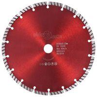 vidaXL gyémánt vágókorong turbó acéllal 230 mm