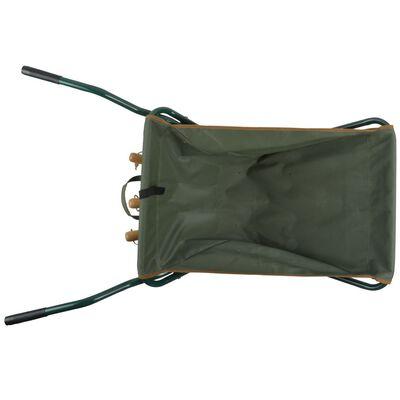 Esschert Design zöld összecsukható talicska