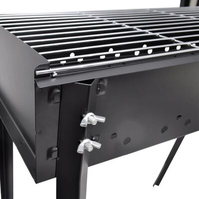 BBQ Állvány Faszén Barbecue 75X28cm