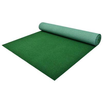 vidaXL zöld szegecses aljú PP műfű 5 x 1 m
