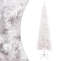 vidaXL fehér vékony karácsonyfa 120 cm