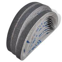 30 darab pneumatikus csiszolószalag: 10 db 60-as, 10 db 80-as, 10 db 120-as, 10 mm x 330 mm