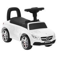 vidaXL fehér Mercedes-Benz C63 pedálos autó