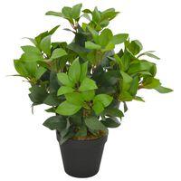 vidaXL zöld, cserepes műbabérfa 40 cm