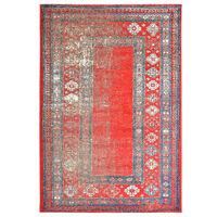 vidaXL piros PP szőnyeg 140 x 200 cm