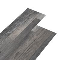 vidaXL ipari faszínű 3 mm-es öntapadó PVC padlóburkolat 4,46 m²