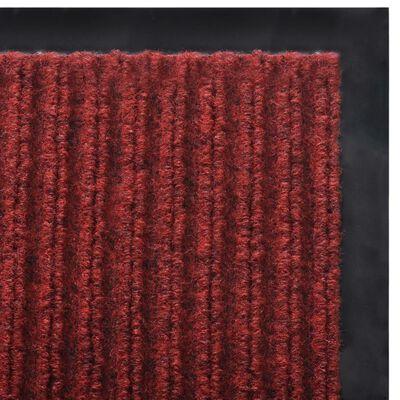 Piros PVC Lábtörlő 90 x 60 cm
