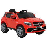 vidaXL piros műanyag Mercedes Benz GLE63S gyerek autó