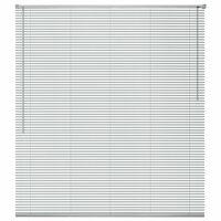 vidaXL ablakredőny alumínium 100x220 cm ezüst