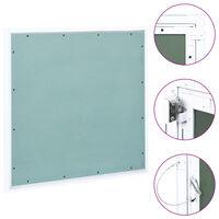 vidaXL alumínium keretes gipszkarton hozzáférési panel 600 x 600 mm