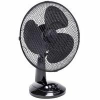 Bestron DDF35Z fekete asztali ventilátor 35 cm