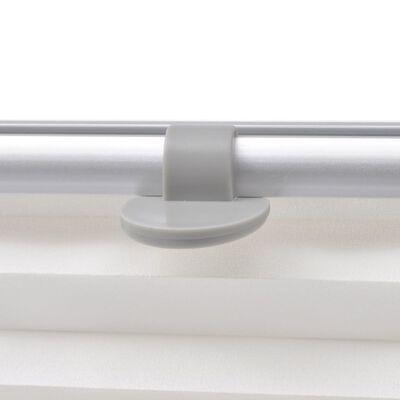 vidaXL fehér pliszé roló M06/306