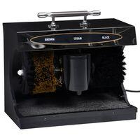 vidaXL fekete teljesen automatikus elektromos cipőfényező gép