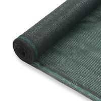 vidaXL zöld HDPE teniszháló 1,8 x 100 m