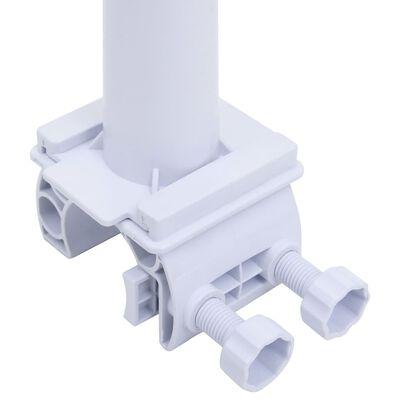 vidaXL műanyag aljú medencefólia-tekerő
