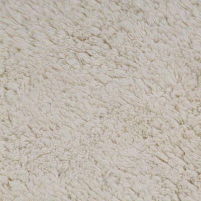 vidaXL 2 darabos fehér szövet fürdőszobaszőnyeg-garnitúra, Fehér