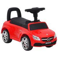 vidaXL piros Mercedes-Benz C63 pedálos autó