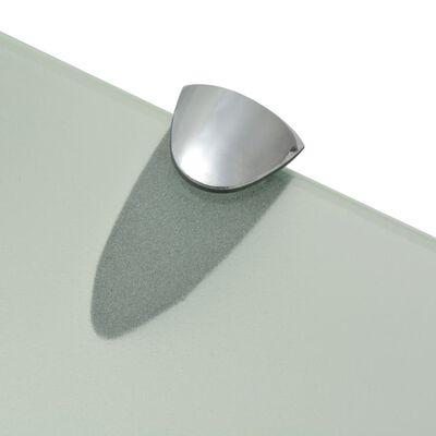 vidaXL 2 db lebegő üvegpolc 80 x 10 cm 8 mm