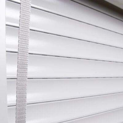 vidaXL fehér alumíniumredőny 100 x 130 cm