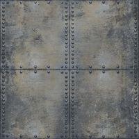 Urban Friends & Coffee szürke és fekete betontömb mintájú tapéta