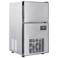 vidaXL jégkockakészítő gép 420 W 50 kg/24 óra