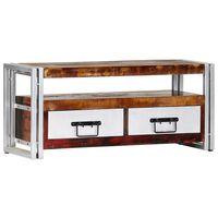 vidaXL tömör újrahasznosított fa TV-szekrény 90 x 30 x 40 cm