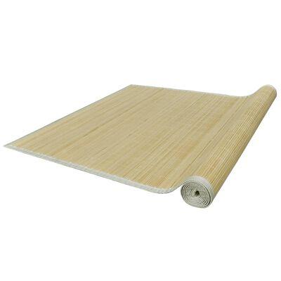 vidaXL természetes színű bambusz szőnyeg 160 x 230 cm