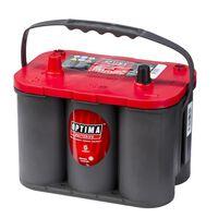 Optima 12 V 50 Ah RT S-4.2 piros tetős akkumulátor