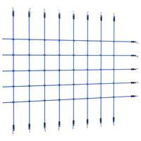 vidaXL kék mászóháló 200 x 150 cm