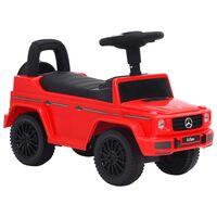 vidaXL piros Mercedes-Benz G63 pedálos autó