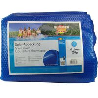 Summer Fun kék polietilén szolártakaró kerek medencéhez 300 cm