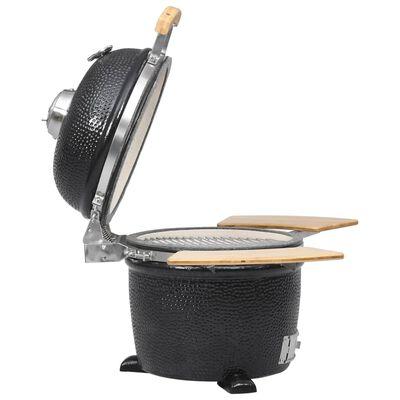Kamado Barbecue Grill Füstölő Kerámia 44 cm