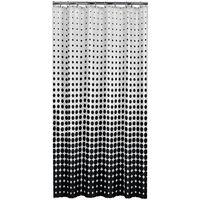 Sealskin Speckles fekete zuhanyfüggöny 180 cm 233601319