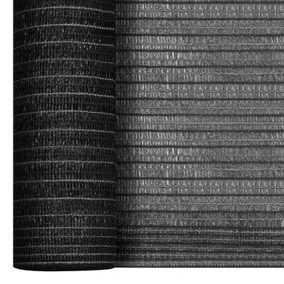 vidaXL antracitszürke HDPE belátásgátló háló 1,8 x 50 m 75 g/m²