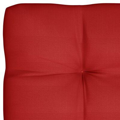 vidaXL 2 db piros raklapkanapé-párna