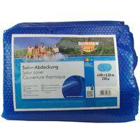 Summer Fun kék polietilén szolártakaró ovális medencéhez 600 x 320 cm