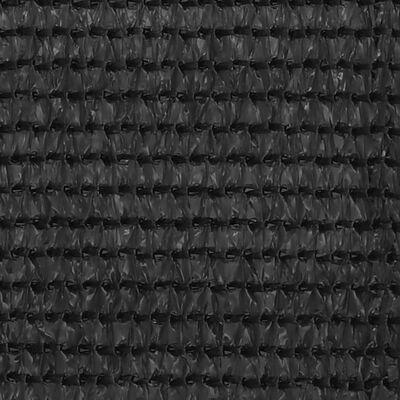 vidaXL antracitszürke HDPE erkélytakaró 120 x 400 cm
