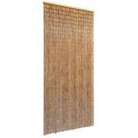 vidaXL ajtófüggöny bambusz 90 x 200 cm