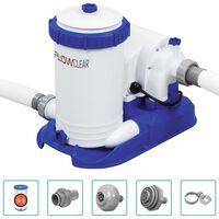 Bestway Flowclear medenceszűrő-szivattyú 9463 liter/óra