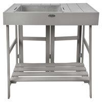 Esschert Design szürke ültetőasztal