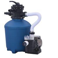 vidaXL homokszűrős vízforgató időzítővel 530 W 10980 l/óra